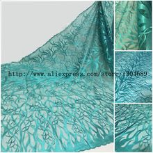 New style French net lace fabric,African pure tulle mesh lace fabric high quality for party dress 5yards/lot Q-L109 Nigerian(China (Mainland))