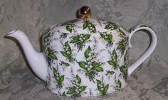 Chintz China Patterns | Lily Chintz Bone China Teapot from England