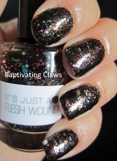 NerdLacquer.. It's Just A Flesh Wound