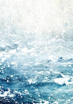 Ocean Print Ocean Art Ocean Waves Abstract Ocean by TheArtLoungeUK