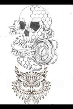 Dessin hibou mignon recherche google hiboux for Loveland tattoo shops