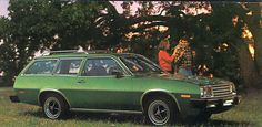 1975 Ford Pinto Station Wagon - Learned to drive in this car. Dad had one of almost every ugly color made!