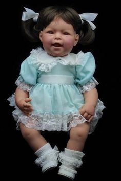 RARE Vintage Lee Middleton THAT'S MY Baby GIRL Doll Signed REVA SCHICK