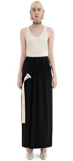 Acne Studios - Karlotta Li Natural - Skirts - SHOP WOMAN - Shop Shop ... c410553c6e7