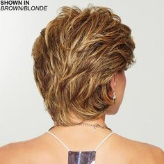 Wear this heat friendly synthetic wig for easy styling! Gratitude by Eva Gabor Wigs is a comfortable wig choice for women with hair loss. Women Haircuts Long, Short Hairstyles For Women, Pixie Haircuts, Trending Hairstyles, Diy Hairstyles, Hairstyle Ideas, Hair Ideas, Girl Short Hair, Short Hair Cuts
