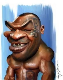 Karikatur Mike Tyson - G Cartoon Faces, Funny Faces, Cartoon Art, Cartoon Characters, Mike Tyson, Funny Caricatures, Celebrity Caricatures, Cinema Tv, Caricature Drawing