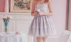 Lavender Dress ♡ Pinterest : @kayneedy