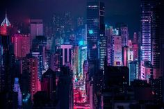 Neon lighting, night city lights, city at night, cyberpunk aesthetic, cyber Cyberpunk City, Ville Cyberpunk, Cyberpunk Aesthetic, City Aesthetic, Cyberpunk 2077, Aesthetic Colors, Cyberpunk Tattoo, Rainbow Aesthetic, Aesthetic Dark