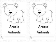 Arctic Animals Emergent Reader- FREEBIE