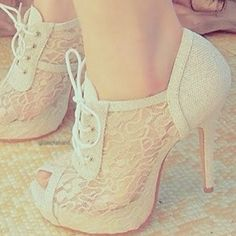 Lace shoes!! There is not a direct website to buy these shoes but if you could find ANYTHING like them I would be grateful :)