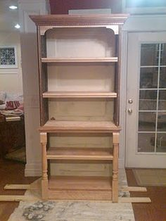 Brilliant  Bookcase With Glass Doors  Custom Made At The Old Plank