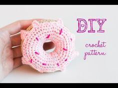 Croby Patterns | How to Crochet Amigurumi Donut – Free Pattern