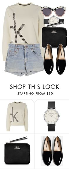 """Untitled #5951"" by laurenmboot ❤ liked on Polyvore featuring Calvin Klein, Levi's, Acne Studios and STELLA McCARTNEY"