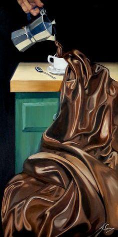 Still Life artist Lorn Curry Oil Paint On Wood, Still Life Artists, Hyper Realistic Paintings, Flow Painting, Deer Art, Unusual Art, High Art, Art Sketchbook, Fabric Art