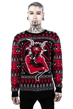 Purr Hexmas Knit Sweater [B]