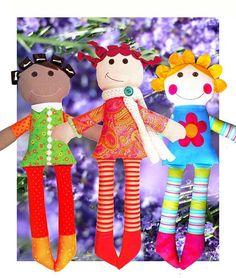 Best Friends Dolls - Digital PDF Soft Toy Pattern