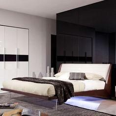 Volterra Floating Bed w/ Lights (Queen)