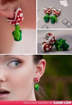 cuuute.  I bet I can make this with sculpy.
