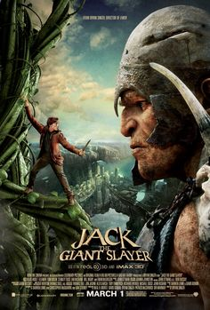 Jack The Giant Slayer [PG-13] (2013) - The ancient war between humans and a race of giants is reignited when Jack, a young farmhand fighting for a kingdom and the love of a princess, opens a gateway between the two worlds.