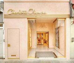 114 Draycott Ave is the new flagship store for 'Charlotte Olympia' located in the highly sought out borough of Chelsea, in the trendy. Boutique Interior, Salon Interior Design, Boutique Design, Storefront Signage, Retail Signage, Shop Front Design, Store Design, Ideas Decoracion Salon, Retail Facade