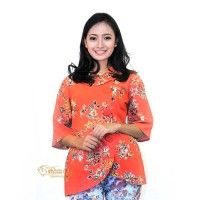 Batik Trusmi eBatik Blus Kantor Tulis Orange Bunga IDR 125.000  *bahan: Katun Tulis Halus *size: M, L & XL *pilihan warna: Orange  -------------------------------------------------------------------------------- Info Order, hubungi Team Marketing Online kami [Open Reseller & Dropship] --> Phone/SMS/Whatsapp/Line :  Dian : 081564690003 | PIN BB: 57FA23DC Linda: 085864040786 | PIN BB: 57E93563 Kiki : 089665271943 | PIN BB: 79FCA1A9 Viny : 085724290097 | PIN BB: 56F40C1A…