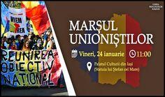 Unioniștii din România și Republica Moldova se vor aduna la Iași pe data de 24 ianuarie cu ocazia celebrării a 161 de ani de la Unirea Principatelor Române - Glasul.info Republica Moldova