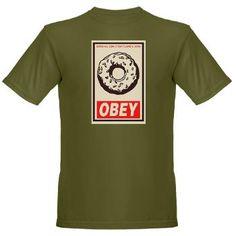 Obey Donut Organic Men's T-Shirt