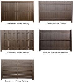 Image from http://allfencingandrepair.com/LifeTime-Lumber/privacy-fence-designs.jpg.