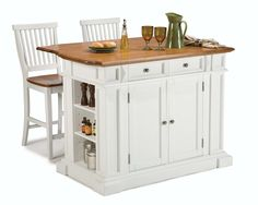 Home Styles 3 Piece Kitchen Island Set & Reviews | Wayfair