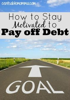 Do you ever get tired of being frugal so you can pay off a debt (or increase your savings or stay on budget)? Check out these 7 tips to help you stay motivated to get out of debt (or other big goal).