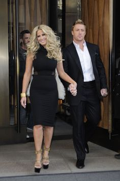 Don't be tardy for the party :) Crazy Kim.....and her gorgeous husband Kroy.