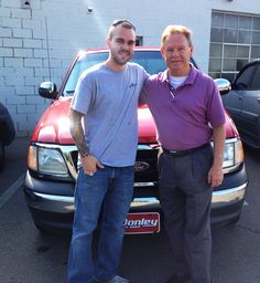 Thank you Ryan G. for the purchase of your Ford F-150! #DiscoverTheDonleyDifference