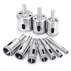 Bore Metal Drill Bit Multi-Construction Drilling Triangle Diamond Drills FA