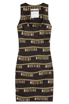 Moschino - Logo Embellished Sheath Dress