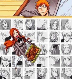 Find images and videos about bleach, kurosaki ichigo and inoue orihime on We Heart It - the app to get lost in what you love. Bleach Orihime, Ichigo And Orihime, Inoue Orihime, Bleach Manga, Kuchiki Rukia, Anime Toon, Anime Chibi, Bleach Couples, Bleach Fanart