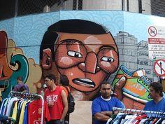 NUNCA   A Controversial graffiti artist.
