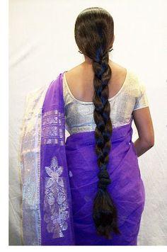 Beautiful long braids - All For Simple Hair Long Bob Hairstyles, Indian Hairstyles, Braided Hairstyles, Flat Twist, Beautiful Braids, Beautiful Long Hair, Blonde Hair Black Girls, Indian Long Hair Braid, Long Hair Video