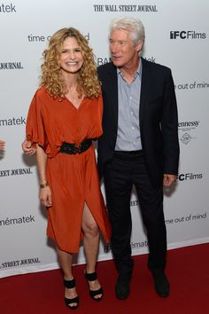 "Kyra Sedgwick Photos Photos - Actors Kyra Sedgwick, and Richard Gere attend the ""Time Out of Mind"" New York premiere at BAM Rose Cinemas on September 8, 2015 in New York City. - 'Time Out of Mind' New York Premiere"