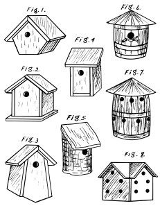 ✎birdhouse clipart | ︵‿✎Clipart | Pinterest | Bird houses, Clip ...