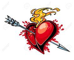 srdce tattoo - Hľadať Googlom