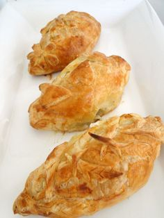 puff pastry chicken parcels