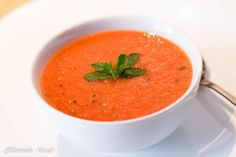Supa crema de rosii cu menta Lime, Cooking Recipes, Ethnic Recipes, Soups, Chowder, Lima, Cooker Recipes, Soup, Key Lime