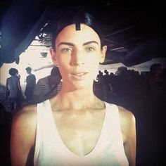 Yes Liberty Ross on Alexandra Wang NY runway