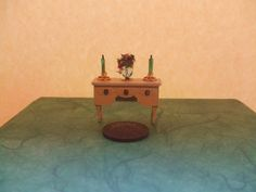 Quarter+Scale+Dollhouse+Console+Table+Side+by+LaPetiteMaisonDAmour,+£5.00