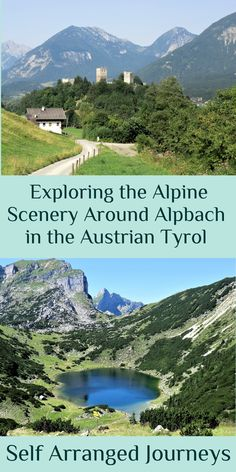 Alpbach is a lovely quiet village in the Austrian Tyrol which is surrounded by gorges and lakes, great for summer walking