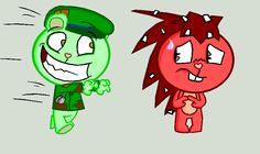 FlippyxFlaky Cartoonish Style by HTF-YTP.deviantart.com on @deviantART
