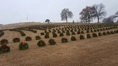Chattanooga National Cemetery, Chattanooga, Tennessee - Wreaths Across America 2016 - Photo by  Doris Masterson Jenkins