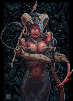 Tiefling female neverwinter