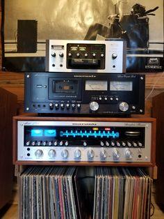 Big Speakers, Vinyl Room, Audio Room, Hifi Audio, Audiophile, Retro Vintage, Music Rooms, Film, Decks