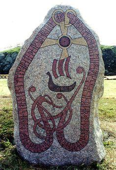 Vinland - Leif Erikssons runsten på L'Anse aux Meadows